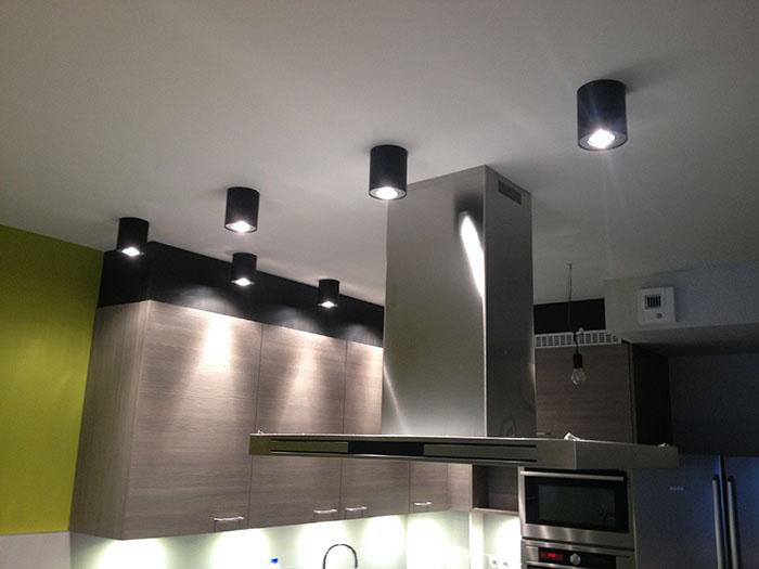 Verlichting keuken - Jecon ELECTRICITEITSWERKEN | DOMOTICA ...